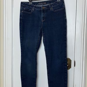 Micheal Kors size 8 straight blue jeans